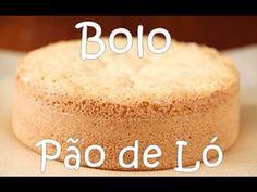 COMO FAZER O MELHOR BOLO PÃO DE LÓ - (Receita Facil) - YouTube