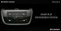 Adding a new dimension in car infotainment, the smart play infotainment system keeps you entertained on the go. #SCross
