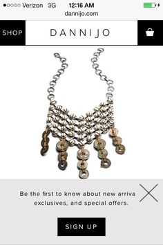 Danijo bib necklace, I could definitely try to diy this :)
