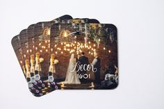 Updated square photo business cards for Decor 1601 - lauraelisefreeman.com #businesscards