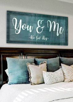 Bedroom wall decor ideas Creative to unique info to produce that dream wall decoration. master bedroom wall decor ideas simple decorating suggestion number generated on 20190308 My New Room, My Room, Home Bedroom, Bedroom Wall, Bedroom Signs, Master Bed Room Decor, Signs For The Bedroom, Master Bedrooms, Bedroom Decor For Couples