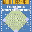 Math Fractions Starter Edition is a great way to hit a homerun with your students!  It is fun and educational!