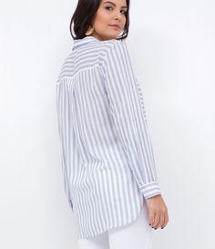 441f7884a0 Camisa feminina Manga longa Listrada Com bolsos Marca  Marfinno Tecido   viscose Composição  100