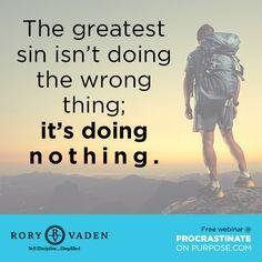 Go forth! #quote #discipline #motivation #inspiration #productivity #success #decision #POPbk #roryvaden