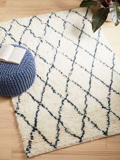 Buy Navy House by John Lewis Diamond Berber Rug from our Rugs range at John Lewis & Partners. Beach Style Rugs, Lounge Rug, Carpet Shops, Rug Runners, Affordable Rugs, Natural Interior, Navy Rug, Berber Rug, Natural Rug