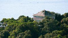 in Pegli-Genoa, Ligure, Italy Mansfield Park, Beautiful Villas, Genoa, Italian Style, Landscape Art, Big Day, Mansions, Architecture