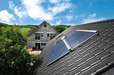 Kolektory słoneczne kupuje się najczęściej w specjalnych zestawach http://www.dedietrich-solary.pl/kolektory_sloneczne/