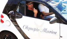 Silvester Stallone with Olympic Marine