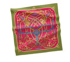 Hermes scarf 90: Cavalcadour