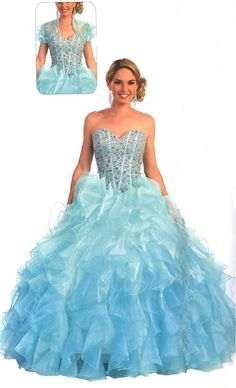 Quinceanera Dresses<BR>Prom Dresses<BR>Vibrant Shimmer!