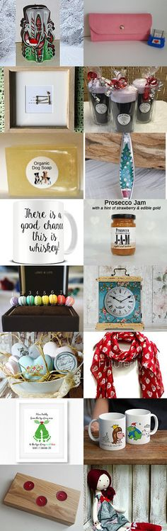Christmas Gifts by jillianmarshall11 on Etsy--Pinned+with+TreasuryPin.com