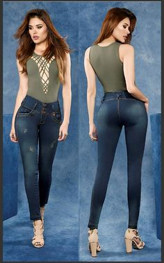 Jeans With Heels, Sexy Jeans, Skinny Jeans, Jeans Pants, Best Jeans For Women, Moda Chic, Heels Outfits, Perfect Jeans, Fashion Poses
