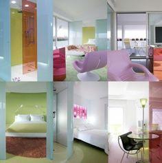 Hotel Semiramis, Athens, design Karim Rashid