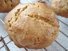 Gluten Free SCD and Veggie: Grain Free Sultana Scones GF SCD; 2 c al flour, 8tsp butter