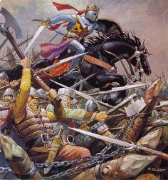 Le Roi de Navarre à Morena en 1212