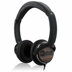 NoiseHush NX26 3.5mm Stereo Headphones with In-Line Mic Black/Wood #SecPro #SecurityProUSA #Security #Pro #USA #Tactical #Military #Law #Promo #Deal #Hypercel #Noisehush #Headphone #Earphone #Mobile #Noise #Hush #Tech #Technology #Music #Techno #Electronic #Bluetooth #Headset #Audio #NX26 #Wood