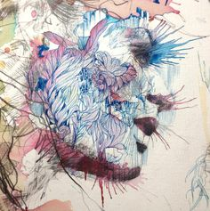 Carne Griffiths' Works For the Trailblazers Exhibition.