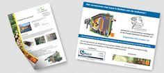 Voor Bio Energie Nederland BV heeft ill graff design een referentiebrochure in huisstijl opgemaakt, zodat deze straks vanaf de website direct zijn te downloaden. Ook zijn er verschillende reclameborden ontworpen, welke bij de klanten in of voor het bedrijf geplaatst zijn.