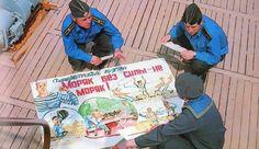 Soviet sailors at the rest