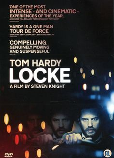 Locke - Steven Knight Een bouwmanager probeert gedurende een nachtelijke autorit een aantal problemen in zijn leven op te lossen.