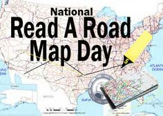 """Day 95 of 365 - Annually, """"Read a Road Map Day"""" is celebrated April 5.  It is a day to go back in time in a bit, back to the days before the GPS.  There are some people that are driving now that have never used a paper road map, they grew up, got their drivers license and learned to drive with the GPS and other electronic  navigation devices.  So, unfold a traditional paper road map, familiarize yourself with it and take a little trip by following the map, without using an electronic device…"""