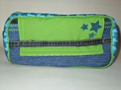 Organizer aus alter Jeans / Organizer made from old pair of jeans / Upcycling