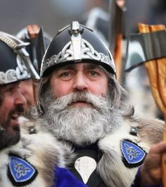 Vikings - Up Helly Aa fire festival on Shetland...Aye, yes...there is Viking blood in me!