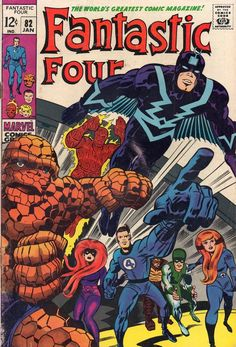 Fantastic Four #82.