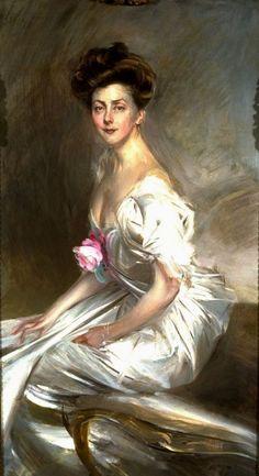 Portrait of Mrs. Whitney Warren, Sr. Giovanni Boldini Date: 1908