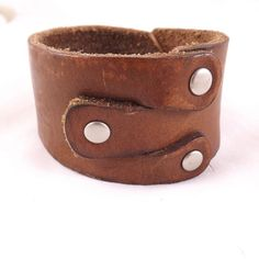 A different way to do the leather cuff