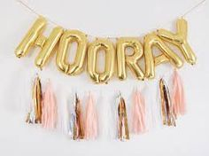 Image result for foil balloon table numbers