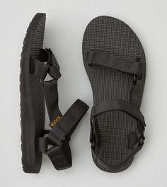 Black Teva Original Universal Sandal