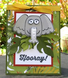 Stampin' Up! Playful Pals Jungle Elephant (Krystal's Cards and More)