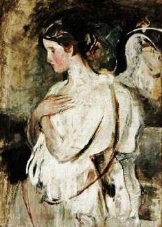 Abbott Handerson Thayer (American artist, 1849–1921) Angel