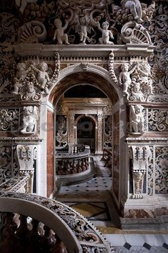 Italy Travel Inspiration - Church of the Gesu, Casa Professa, Palermo, Sicily… Italy Vacation, Italy Travel, Amazing Architecture, Architecture Details, Baroque Architecture, Beautiful Buildings, Beautiful Places, The Places Youll Go, Places To Go
