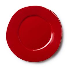 """Long lauded for creating one of the best shades of red in tabletop, we are thrilled to announce our newest red. Lastra""""s iconic cheese mold shape meets the rich hue, and the result is extraordinary on this Lastra Red Dinner Plate. http://apps.agenne.com/ProductDisplay.cfm?id=580447&cid=377"""