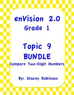 "Everything you need to make teaching and planning for Topic 9 easier bundled and ready to use: Practice Pages for each lesson  Addition and Subtraction fluency practice for each lesson Task Cards for each lesson  Flipchart  Lesson plan  ""I can"" statements  No frills. Just serious skills."