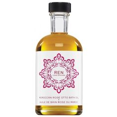 REN Moroccan Otto Bath Oil ($41) ❤ liked on Polyvore featuring beauty products, bath & body products and body cleansers