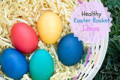 Healthy Easter Basket Ideas #sp