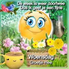 Joelle, Tweety, Good Morning, Wednesday, Character, Buen Dia, Bonjour, Good Morning Wishes, Lettering