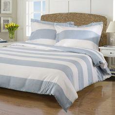 Superior Cotton Rich 600 Thread Count Cabana Duvet Cover Set