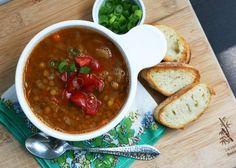 Lentil Sausage Soup - Cheap Recipe Blog (http://morselsoflife.com/five-friday-finds-60.html)