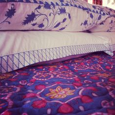 john robshaw bedding. instagram photo: krista nye schwartz of cloth & kind.