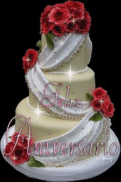Lots of love form my side to you and your buaa ji Happy Anniversary Clip Art, Marriage Anniversary Cake, Happy Anniversary Wedding, Happy Anniversary Cakes, Anniversary Greetings, Happy Birthday Greetings Friends, Happy Birthday Wishes Cake, Happy Birthday Celebration, Happy Birthday Flower