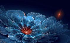 信じられないほど美しい!フラクタルアートな花 – Fractal Flowers - via http://design.style4.info/2012/11/fractal-flowers/