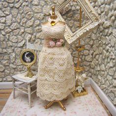Dollhouse Miniature Mannequin by kathiecrisan on Etsy