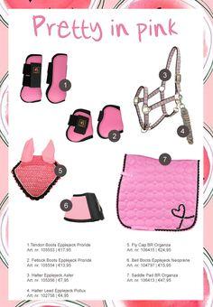 Like or dislike? #pretty #pink #horse #rider #equestrian #halter #saddlepad…