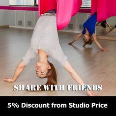 เรียน yoga fly - aerial yoga ที่ไหน #yogaflybagkok #yogafly #starpilatesbangkok #yogaflysilom