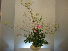 Japanese flower arrangement 4, Ikebana: いけばな | Flickr: partage de photos!