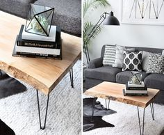 Coffee table decorating ideas can turn that cluttered tabletop into a design feature to be proud of. With the right decor, a coffee table can be a key design element in your living room design. Enjoy the best designs for Black Coffee Tables, Rustic Coffee Tables, Diy Coffee Table, Decorating Coffee Tables, Coffee Table Design, Living Room Modern, Living Room Designs, New Patio Ideas, Table And Chair Sets
